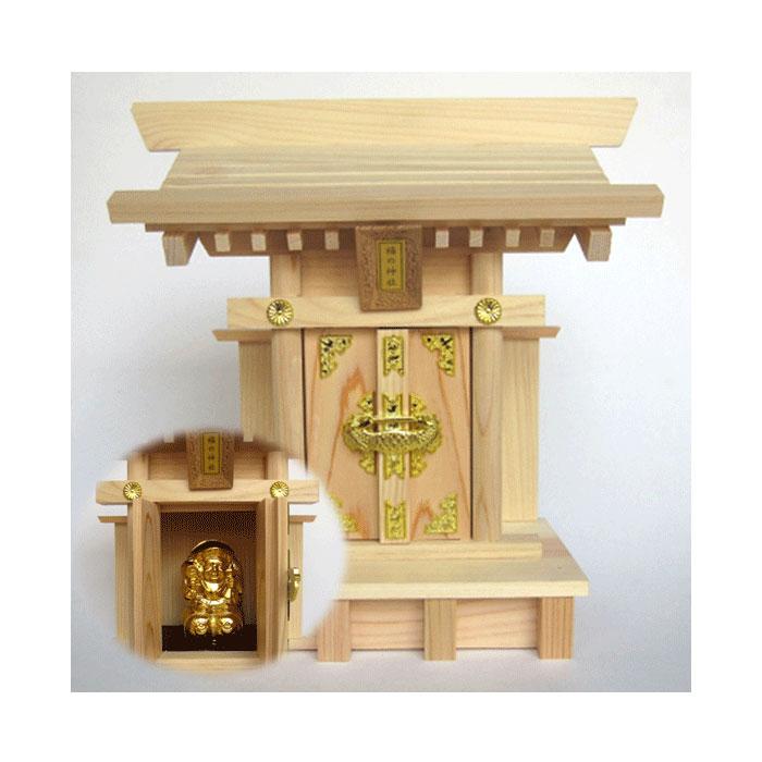 【送料無料】福の神社(ふくのかみやしろ)  商売繁盛・五穀豊穣!