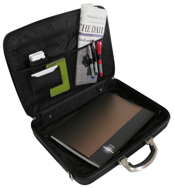【大好評P5倍】【送料無料】安心の国産豊岡製鞄 B4書類収納可能 アタッシュケース シングル 24-0282