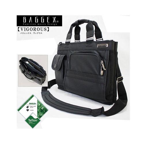 【送料無料】バジェックス BAGGEX ヴィグラス VIGOROUS ビジネストートバッグ 二層式 2ルームタイプ 23-5587