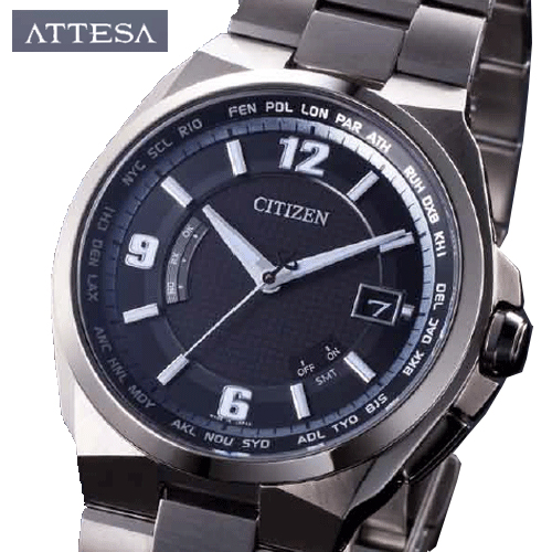 【CITIZEN シチズン】 アテッサ ダイレクトフライト ATTESA DIRECTFLIGHT 電波時計 腕時計