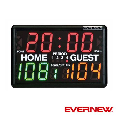 【メーカー直送のため代引き不可】【EVERNEW エバニュー】【送料無料】デジタルマルチカウンター EKE971 機能性と使いやすさを求めたデジタル得点板