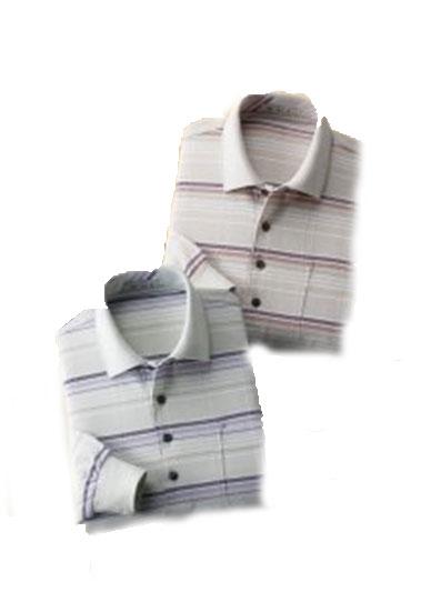 【送料無料】【mij/エムアイジェイ】 日本製格子柄長袖シャツ2色組 IW-0021