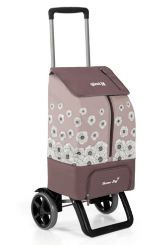 【送料無料】イタリア gimi サーモス カングー ショッピングカート 軽量かつ安定性の高い、イタリア・GIMI社のスマートなショッピングカート 買い物 エコバッグ 旅行
