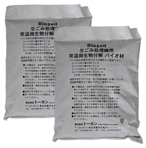 家庭用生ゴミ処理機ゼロボックス用補助用バイオ材 希望者のみラッピング無料 セールSALE%OFF 4L×2袋