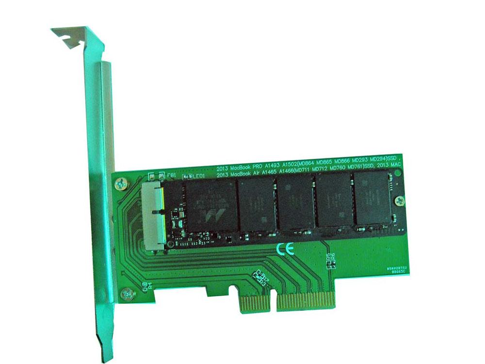 2014 2012 APPLE MACBOOK AIR A1466 A1465 ME253 SSD PCI-E變換適配器
