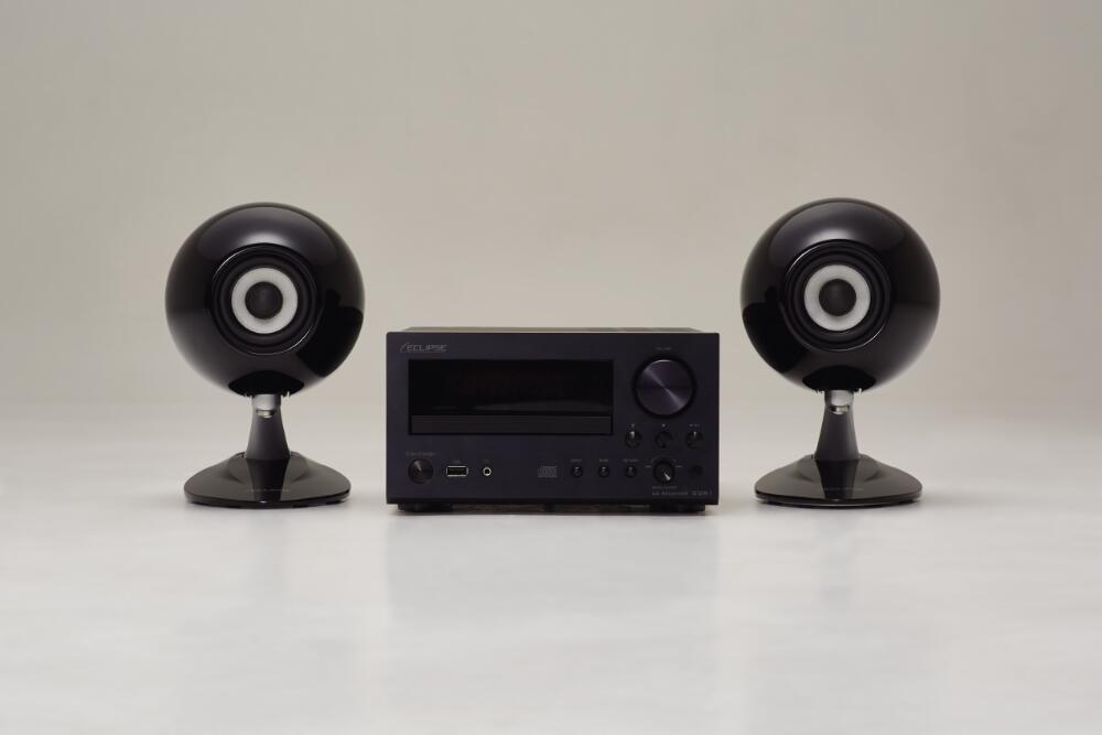 【3組限定】ECLIPSE CDR1+TD307MK3 BK PACK【イクリプス/スピーカー/ステレオアンプ/ブラック/オーディオ/ホームシアター 】