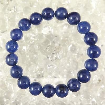 宝石質サファイアAAA 10mm玉ブレスレット
