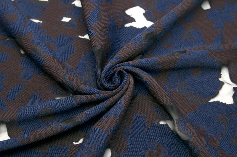 イタリア製【CARNET/カルネ】ウールブレンド・ファイユジャカード・フラワーオパール・プリントジャケット着分1.6m単位 生地・布