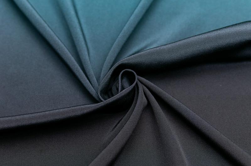 イタリア製【BB】ピュアシルク・デシングラデーションカラー1パネル1.48m単位 生地・布