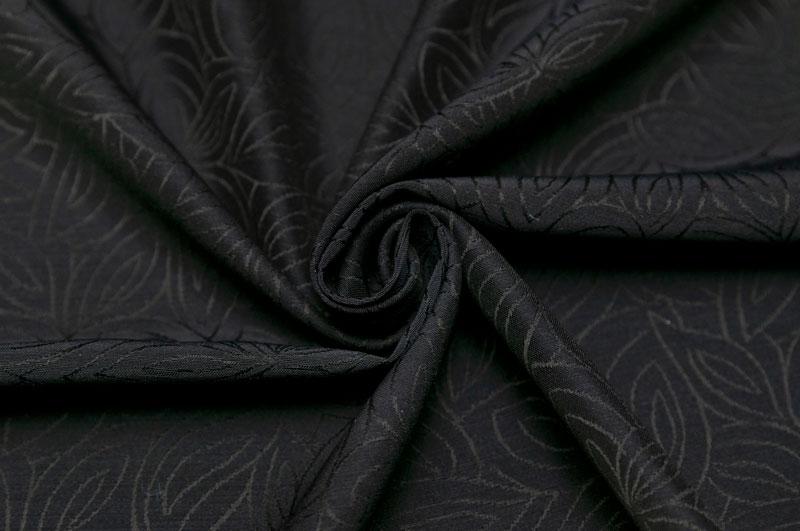 イタリア製 輸入生地【G.A.社】ウール・アセテートバックサテンジャカード織り2.0m単位 生地・布