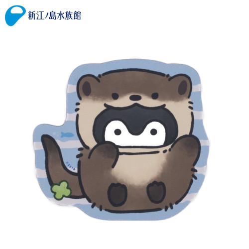 コウペンちゃん×新江ノ島水族館 カワウソなマウスパッド