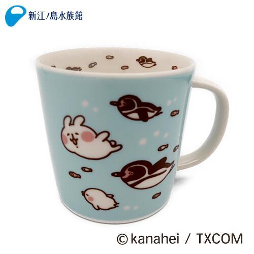 カナヘイの小動物 ピスケ&うさぎ マグカップ