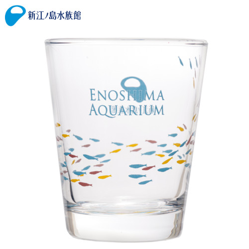 新江ノ島水族館オリジナル 爆売り えのすいオリジナルグラス コップ 食器 オリジナル 日本製 ショッピング おさかな おしゃれ ソーダガラス 小さい 普段使い