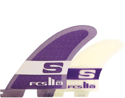 FCSフィン・FCS2ボックス用・SA PC Mサイズ・トライクアッドフィンセット