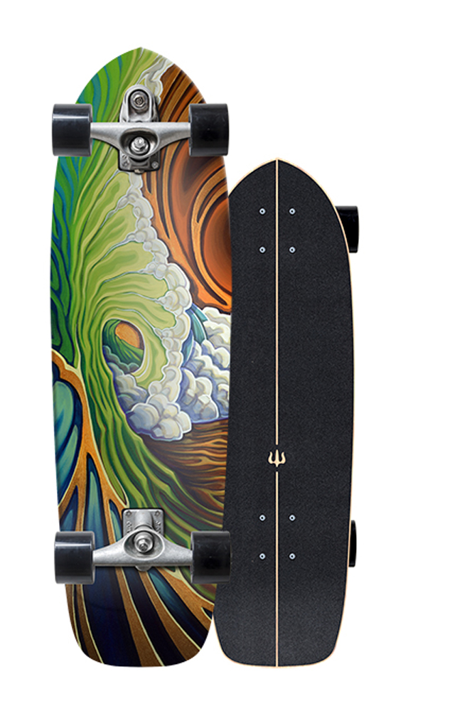 CARVER(カーバー)スケートボード 日本正規品 GREENROOM グリーンルーム 33.75インチ  C7トラックコンプリート