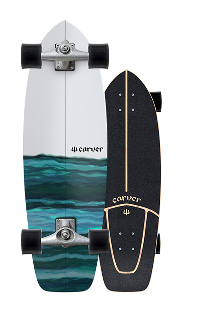 CARVER(カーバー)スケートボード 日本正規品 RESIN レジン 31インチ  CX4トラックコンプリート