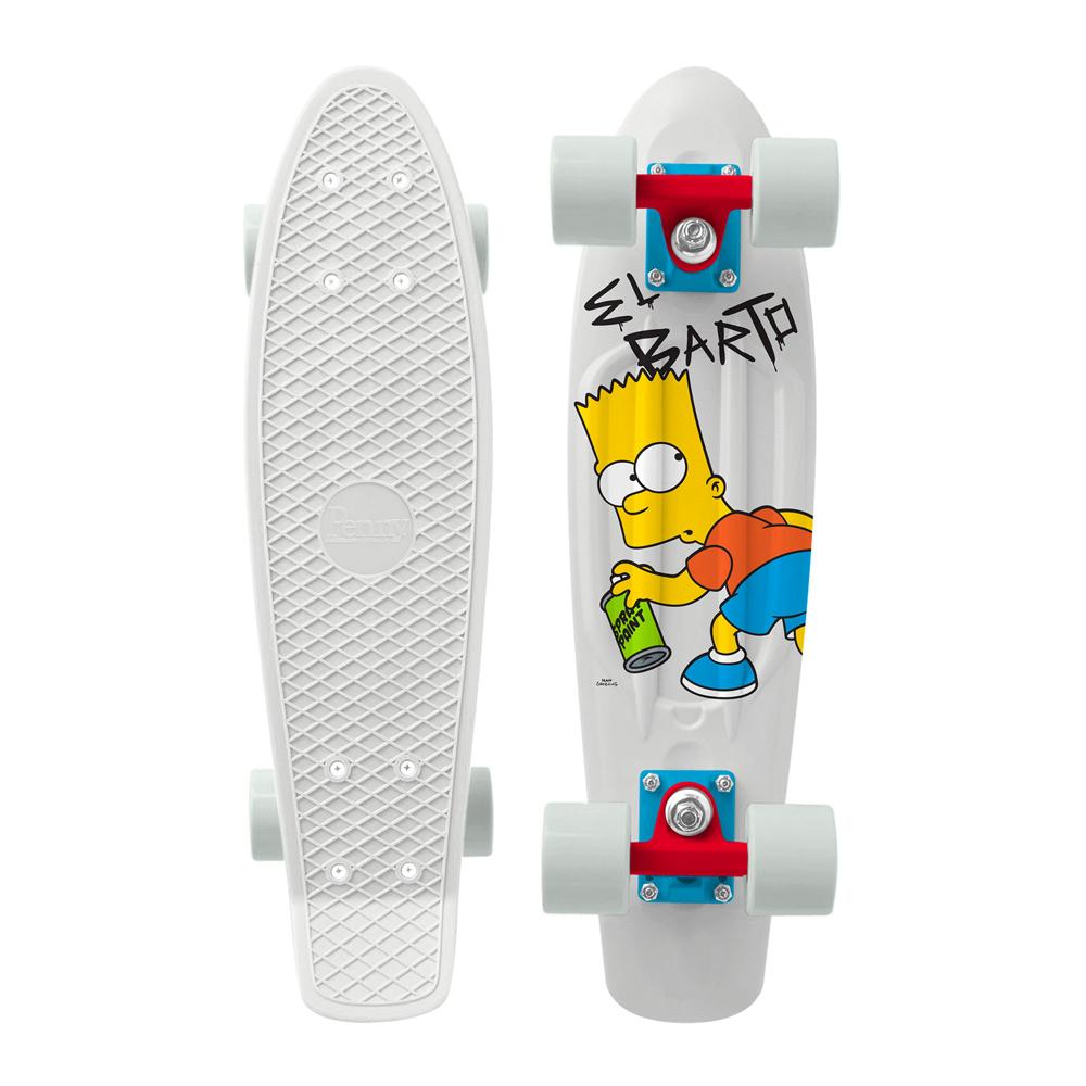 PENNY skateboard(スケートボード)オリジナル22inch・SIMPSONSコラボモデル EL BARTO