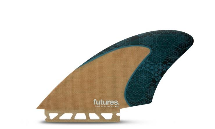 FUTURE(フューチャー)サーフボード用フィン RASTA KEEL JUTE