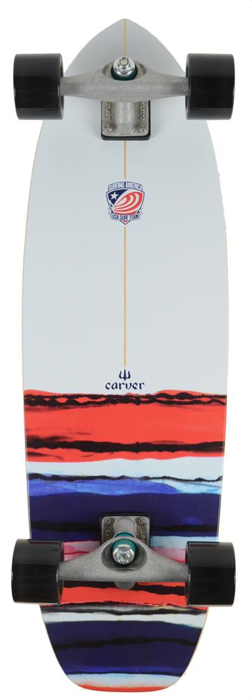 CARVER(カーバー)スケートボード 日本正規品 USA RESIN 32.5インチ  CX4トラックコンプリート