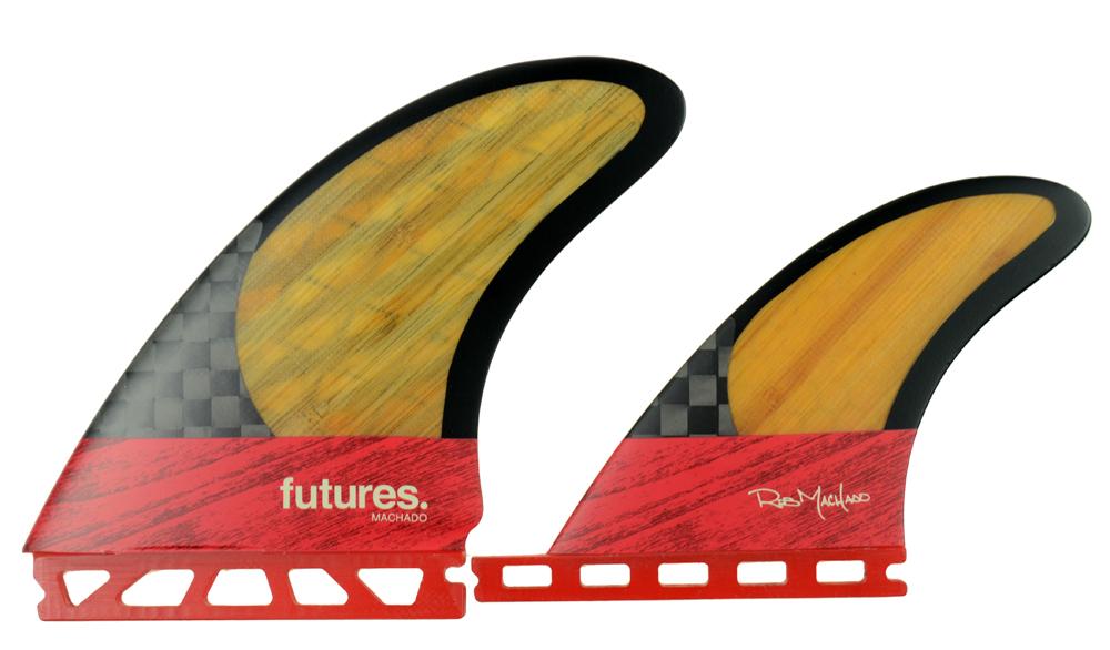 FUTURE(フューチャー)サーフボード用フィン ROB MACHADO2+1