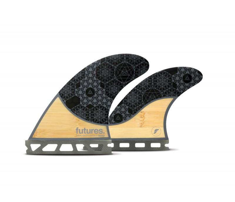 【楽天最安値に挑戦】 FUTURE(フューチャー)サーフボード用フィン RASTA QUAD BAMBOO, SHOESHOLIC 882e4322