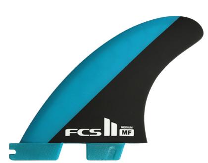 FCSフィン・FCS2ボックス用・MF PC Mサイズ・トライフィンセット