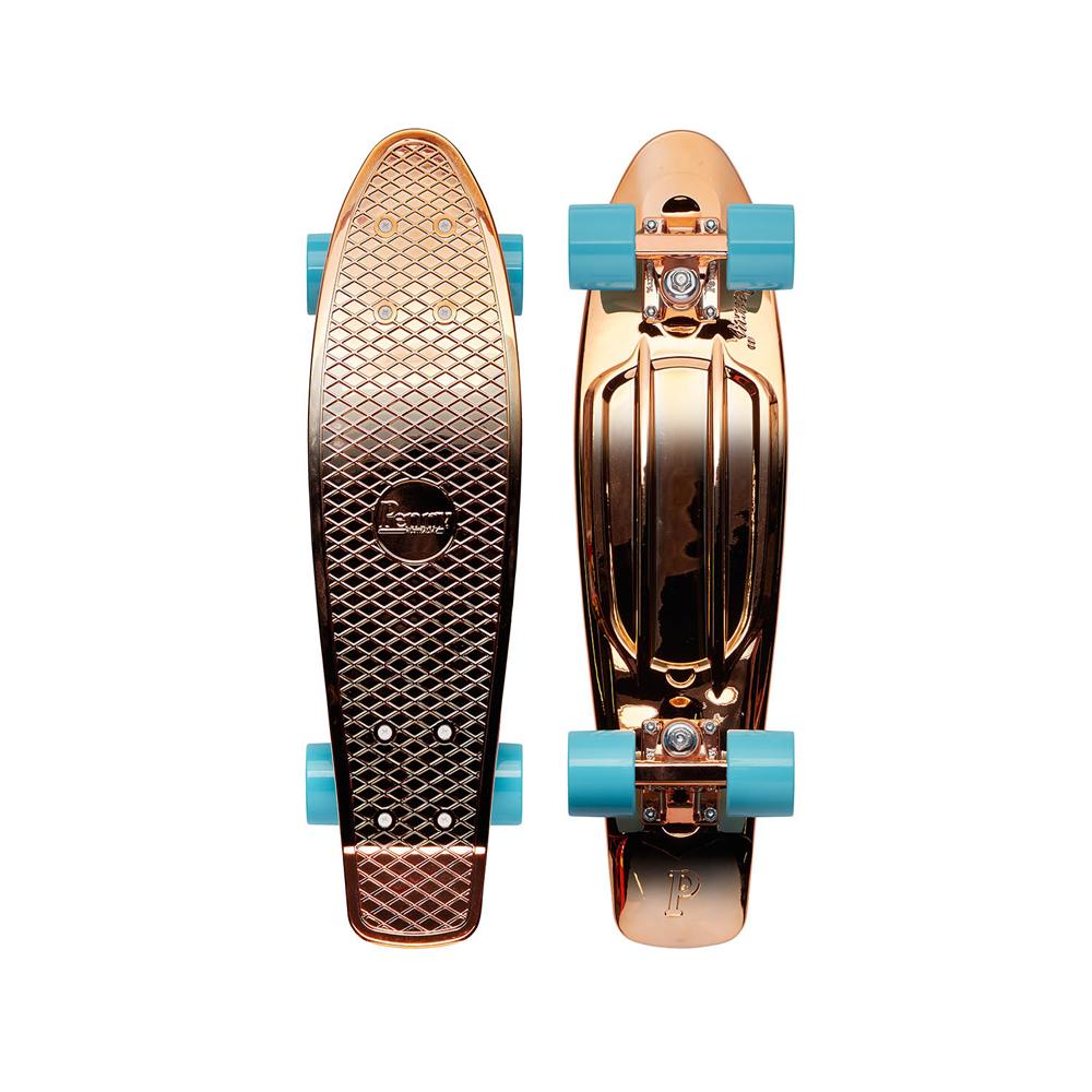 PENNY skateboard(スケートボード)オリジナル22inch・METALLIC FADEシリーズ ROSE GOLD