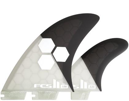 FCSフィン・FCS2ボックス用・AM TWIN+1 PC・ツインフィン+スタビライザーセット