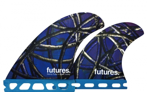 FUTURE(フューチャー)サーフボード用フィン・DANNY FULLEY QUAD