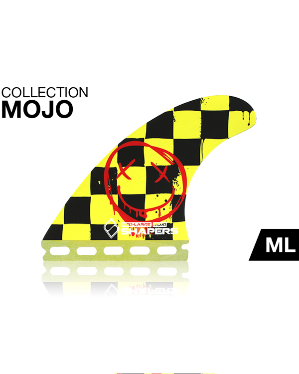 SHAPERSサーフボード用フィン MOJO FUTUREボックス用