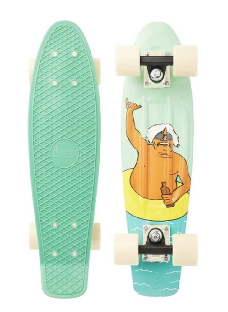 PENNY skateboard(スケートボード)22inch・GRAPHICシリーズ CHUK SHAKA