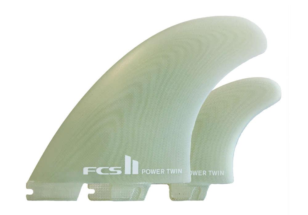 FCSフィン・FCS2ボックス用・POWER TWIN PG・ツインフィン+スタビライザーセット