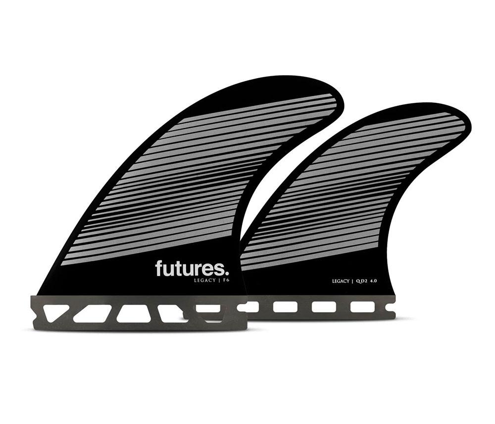 QUAD FUTURE(フューチャー)サーフボード用フィン・RTM-HEX-F6