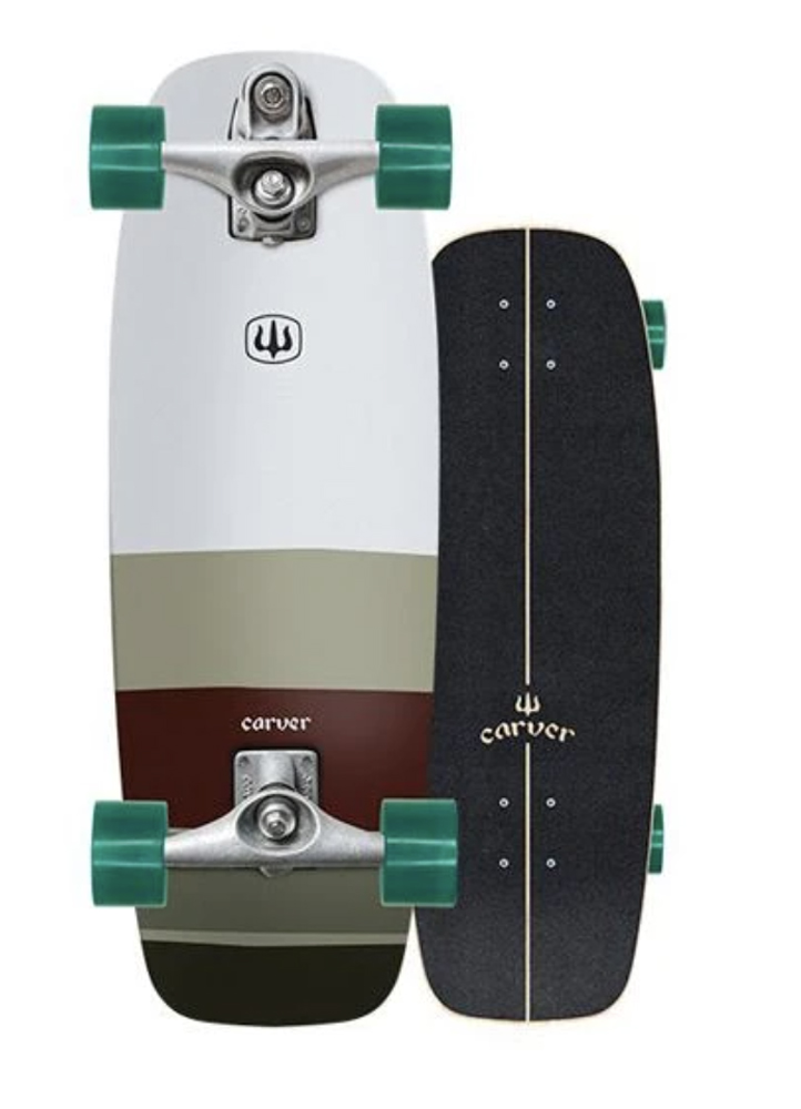 CARVER(カーバー)スケートボード 日本正規品 MINI SIMMS ミニシムス 27.5インチ  C7トラックコンプリート