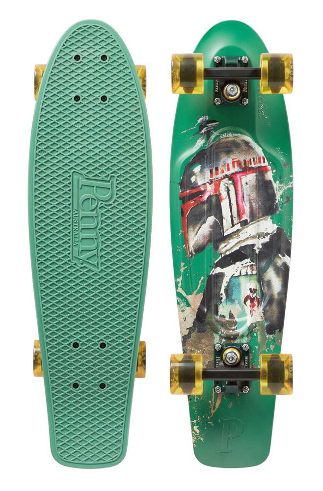 PENNY skateboard(スケートボード)オリジナル27inch・STARWARSコラボ BOBA FETT