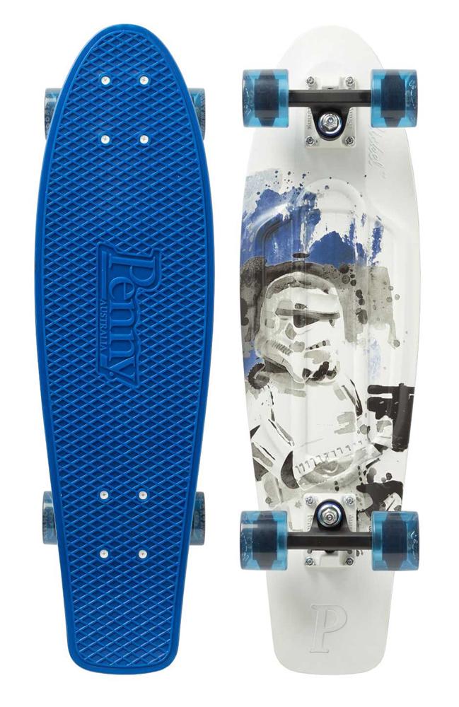 PENNY skateboard(スケートボード)オリジナル27inch・STARWARSコラボ STORM TROOPER