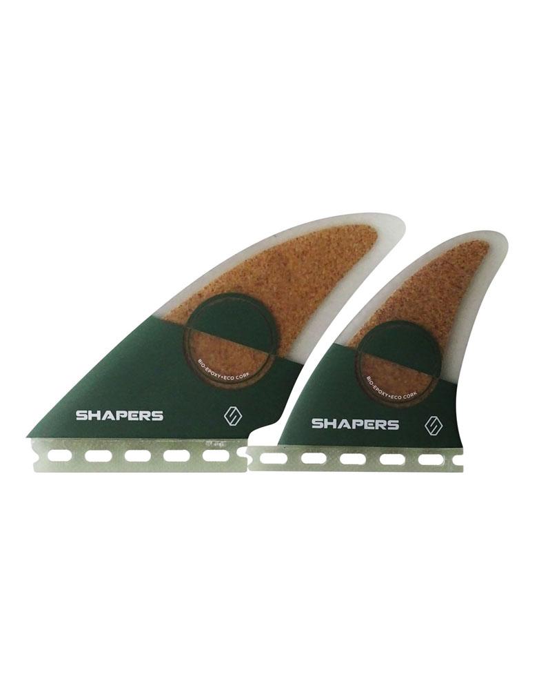 SHAPERSサーフボード用フィン KEEL QUATRO eco teck製 FUTUREボックス用4フィンセット