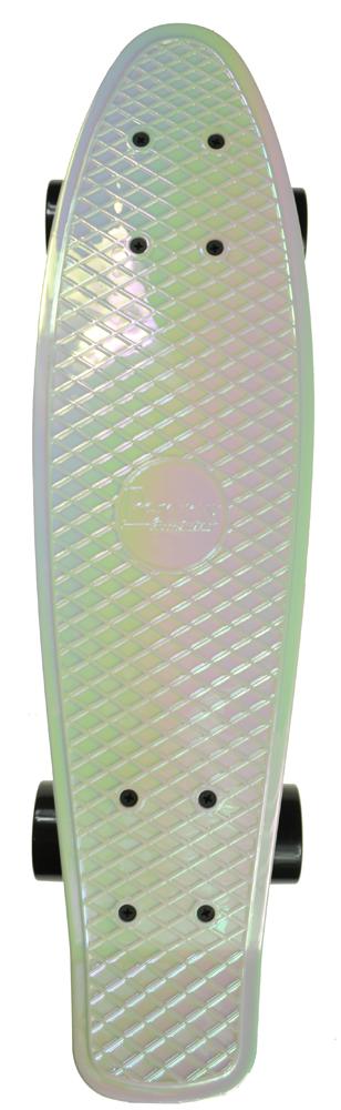 PENNY skateboard(スケートボード)オリジナル22inch・METALLIC SOLIDシリーズ WHITE PEARL