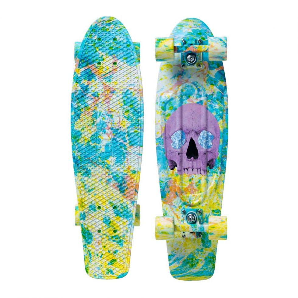 PENNY skateboard(スケートボード)オリジナル27inch・SKULL SPLATTER