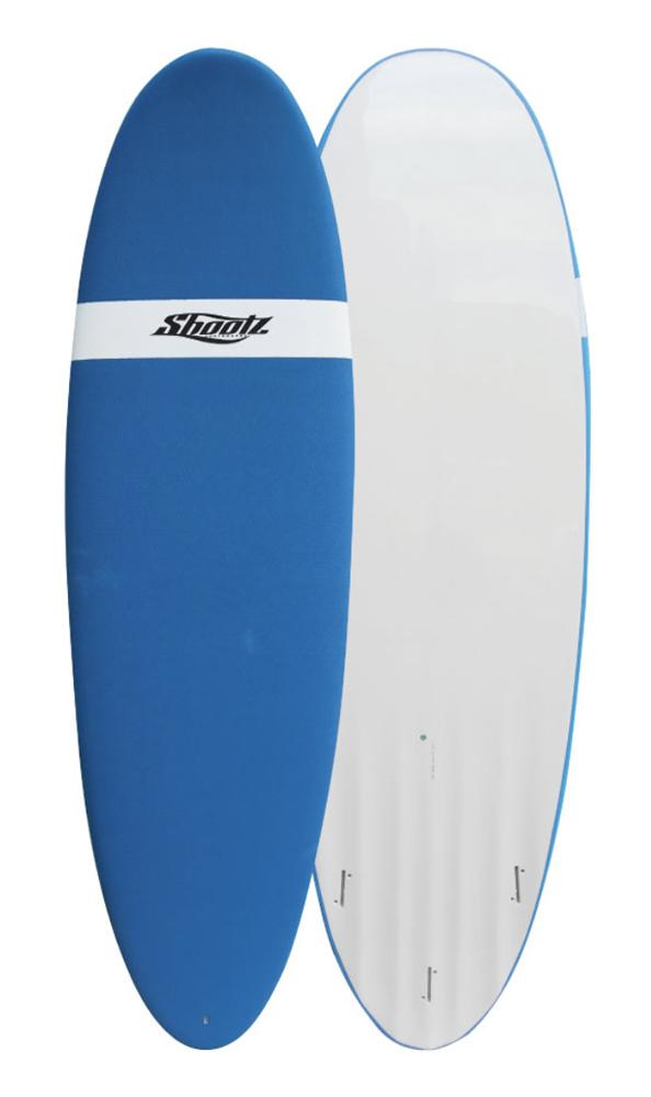 SHOOTZ(シューツ)SURFBOARD Hydro Channel Soft Bottom 6'0