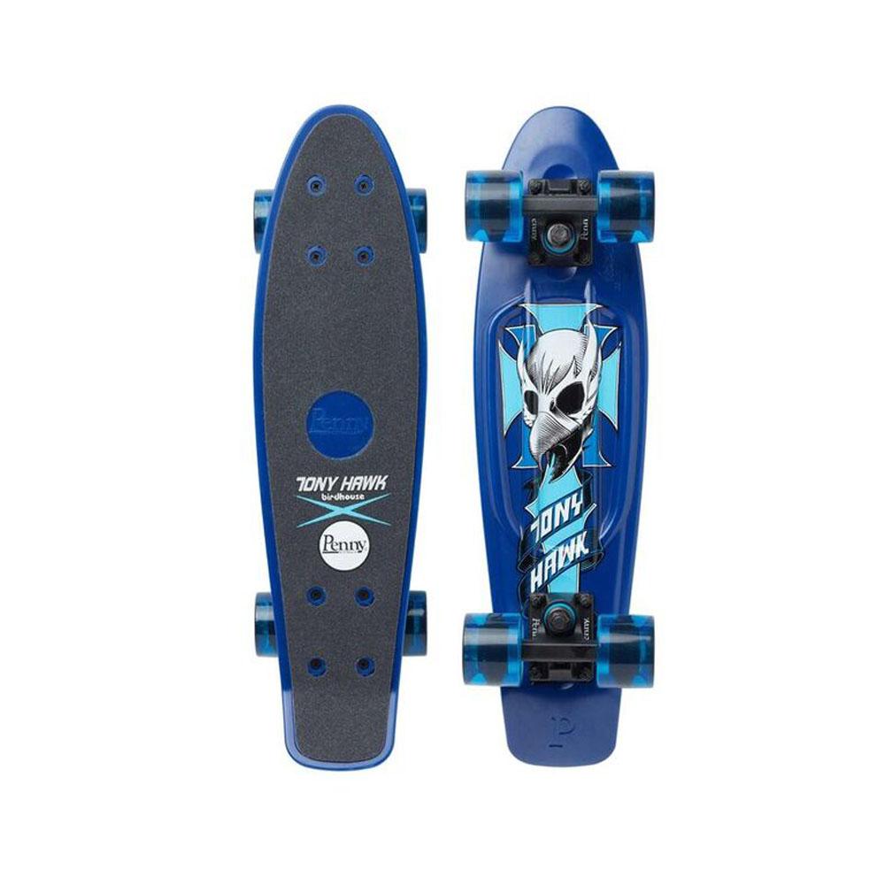 PENNY skateboard(スケートボード)オリジナル22inch・TONY HAWK CREST BLUE