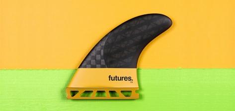FUTURE(フューチャー)サーフボード用フィン・V2-EA BLACK STIX3.0