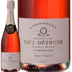 ワイン ロゼ スパークリング NV ポール フランス デテュンヌ 発泡 750ml シャンパーニュ 低価格化 送料無料限定セール中