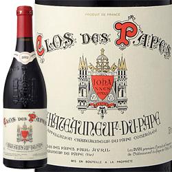 ワイン 赤ワイン 2013年 シャトーヌフ・デュ・パプ クロ・デ・パプ・ルージュ / ポール・アヴリル フランス ・ローヌ / 750ml