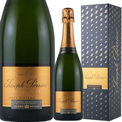 ワイン スパークリングワイン 泡 シャンパン 2008年 ジョセフ・ペリエ キュヴェ・ロワイヤル・ブリュット・ヴィンテージ[ボックス付] / ジョセフ・ペリエ フランス シャンパーニュ 750ml