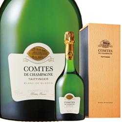 ワイン スパークリング シャンパン 2006年 テタンジェ・コント・ド・シャンパーニュ ブラン・ド・ブラン [ボックス付] / テタンジェ フランス シャンパーニュ / 750ml / スパークリング