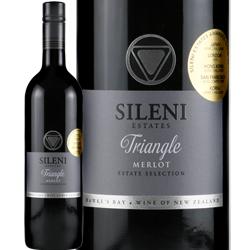 卸売り ワイン 赤ワイン 2018年 グランド リザーヴ トライアングル メルロ 750ml シレーニ ベイ ホークス スクリューキャップ 海外限定 ニュージーランド エステート