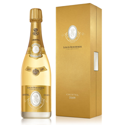 ワイン スパークリング シャンパン 白 発泡 ワインギフトに最適[2008年 ルイ・ロデレール クリスタル[ボックス入り] / ルイ・ロデレール フランス シャンパーニュ / 750ml