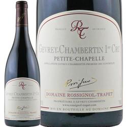 ワイン 赤ワイン 2012年 ジュヴレ・シャンベルタン プルミエ・クリュ プティト・シャペル / ロシニョール・トラペ フランス ブルゴーニュ ジュヴレ・シャンベルタン 750m