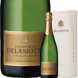 ワイン スパークリング シャンパン 白 発泡 2007年 ドゥラモット・ブリュット ブラン・ド・ブラン [ボックス付] / サロン / ドゥラモット フランス シャンパーニュ/ 750ml